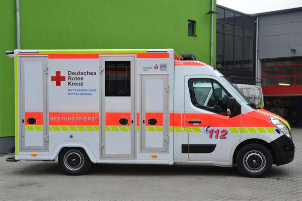 Gießen 11/83-1 - Rettungswagen Lich